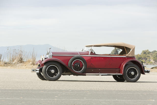 <i>The ex-Henry Wing and Paul Stern</I><br /><b>1929 Rolls-Royce Phantom I Ascot Tourer  </b><br />Chassis no. S178FR <br />Engine no. 21788