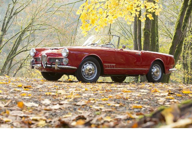 <b>1959 Alfa Romeo 2000 Spider  </b><br />Chassis no. AR.10204.00022 <br />Engine no. AR.00204.00263