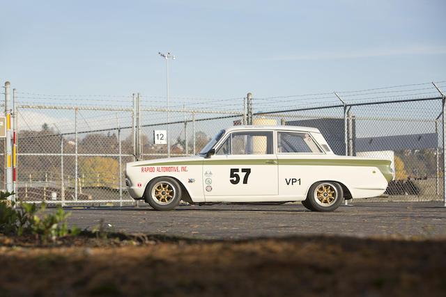 <b>1966 Lotus Cortina Mk I  </b><br />Chassis no. BA74FM59831