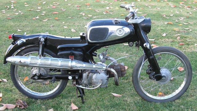 1967  Honda  S65 Frame no. S65YA038206 Engine no. C200E-107755