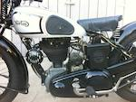 1937  Norton  Model 50 350cc Frame no. 84075 Engine no. 8563