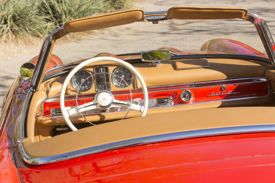 <b>1961 Mercedes-Benz 300SL Roadster with Hardtop</b>  <br />Chassis no. 198042-10-002795 <br />Engine no. 198980-10-002846