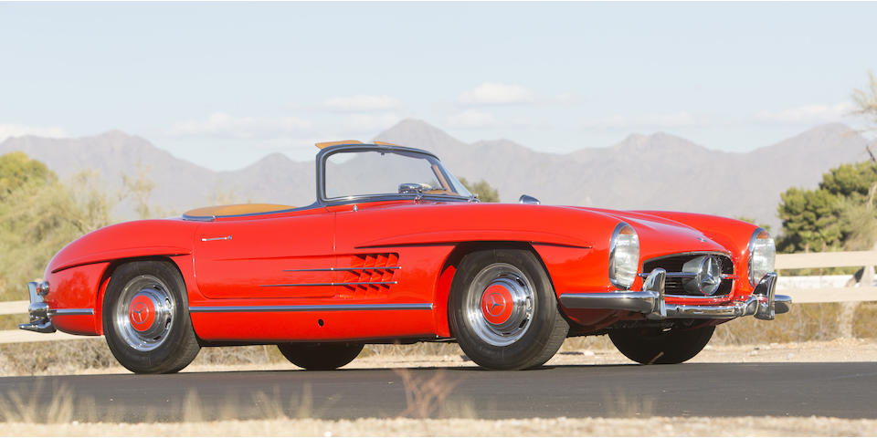 <b>1961 Mercedes-Benz 300SL Roadster</b>  <br />Chassis no. 198042-10-002795 <br />Engine no. 198980-10-002846