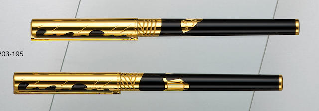 DUPONT: Teatro Limited Edition 1000 Fountain Pen & Rollerball Pair