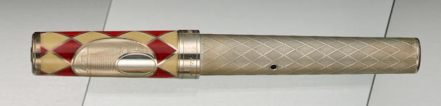 GRAND MASTERS: Emotion Monaco Sterling Silver Limited Edition 777 Fountain Pen
