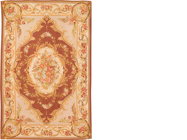 An Aubusson style carpet 20th century