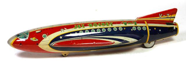 Lithographed Jet Rocket V-7