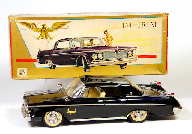 1962 Chrysler Imperial 4-door hardtop with decorative box