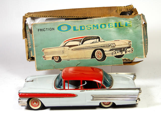 Boxed Oldsmobile