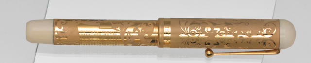 VISCONTI: Giacomo Leopardi 18K Solid Gold Limited Edition 200 Fountain Pen