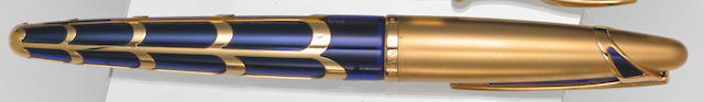 WATERMAN: Edson Boucheron 18K Yellow Gold Limited Edition 3741 Fountain Pen