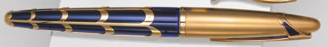 WATERMAN: Edson Boucheron 18K Yellow Gold Limited Edition 3741 Fountain Pen