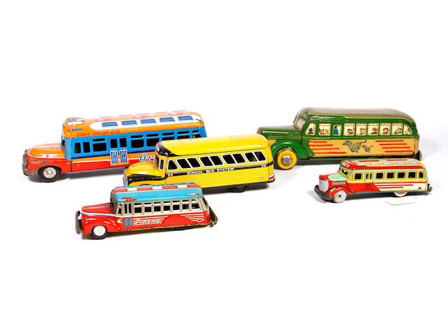 Collection of Bonnet Busses