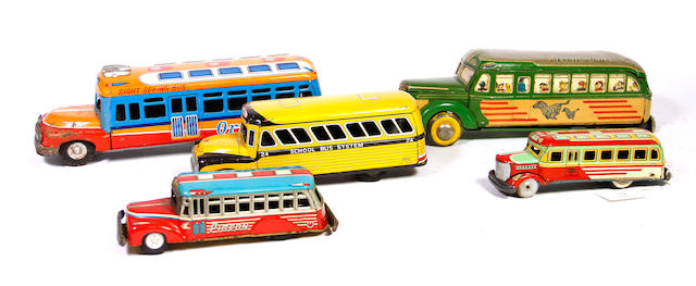 Collection of Bonnet Busses