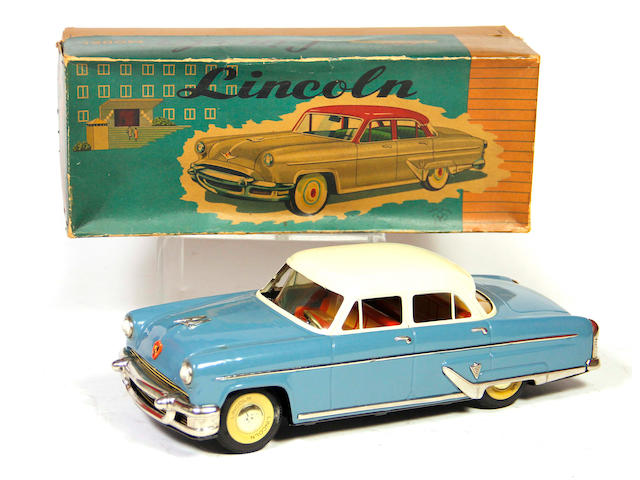 1955 Yonezawa Lincoln 4-door sedan with box