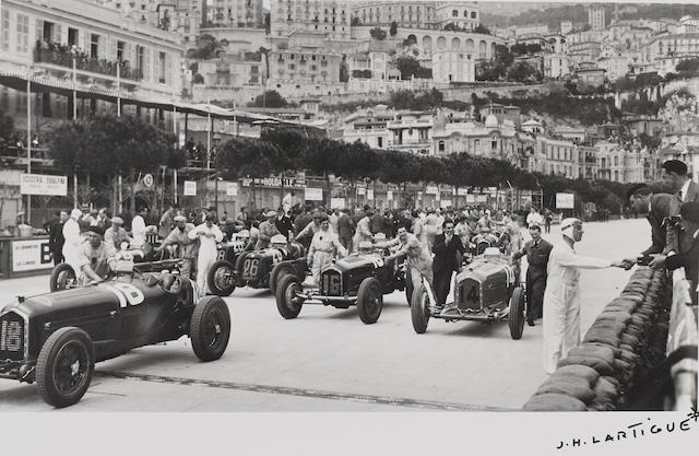 Jacques-Henri Lartigue (1894-1986): Grand Prix Automobiles de Monaco,