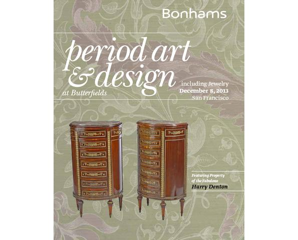 Period Art & Design, including Jewelry Featuring property of the Fabulous Harry Denton