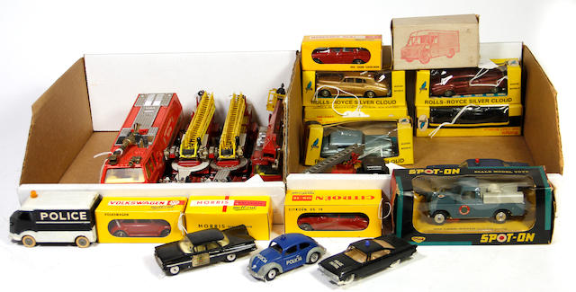 1/43rd Scale Continental die-cast toys