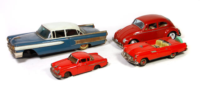 Lithographed Tin Cars