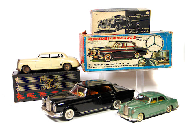 Mercedes Benz Tinplate Vehicles