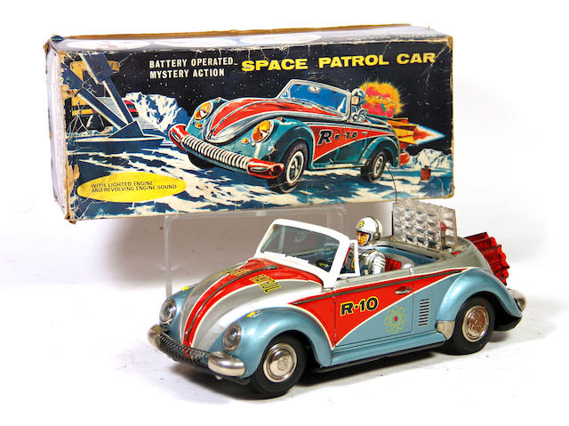 1960's Volkswagen R-10 Beetle Concept Car