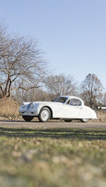 <b>1952 Jaguar XK120 Fixed Head Coupe  </b><br />Chassis no. 679874 <br />Engine no. W 5540-8