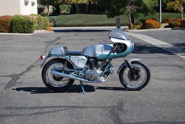 1973 Ducati 750SS Frame no. DM750SS-075080 Engine no. 075116