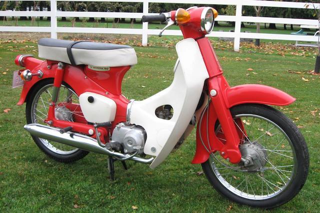 1969 Honda C-50 Super Cub Frame no. C50YK004229 Engine no. C50E386138