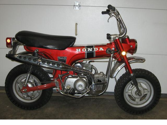 1972 Honda CT70 Trail Frame no. CT70237824 Engine no. ST70E101012