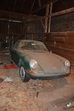 <b>1965 Porsche 911 Coupe  </b><br />Chassis no. 302226 <br />Engine no. 902350