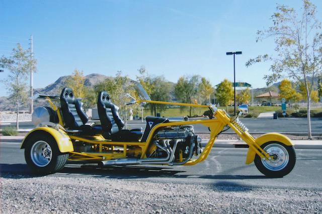 2001 Odyssey Trike Frame no. 1Z9TB89951F160004