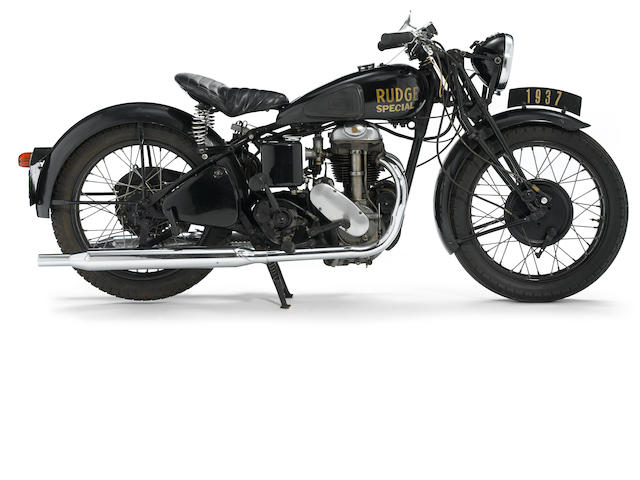 1936 Rudge 500 Special Frame no. 63457 Engine no. S5191