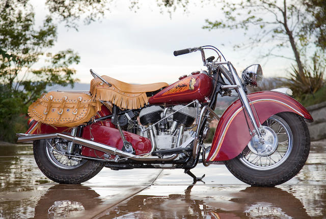 1947 Indian Chief Engine no. CDH 3349