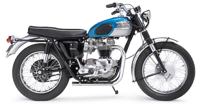 1965 Triumph  TT Special  Frame no. T120CDU21921 Engine no. T120CDU21921