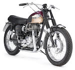 1967  Triumph TT Special  Frame no. T120TTDU45886 Engine no. T120TTDU45886