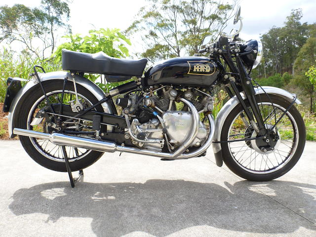 1947 Vincent Series B Rapide Frame no. R2312 Engine no. F10AB1313