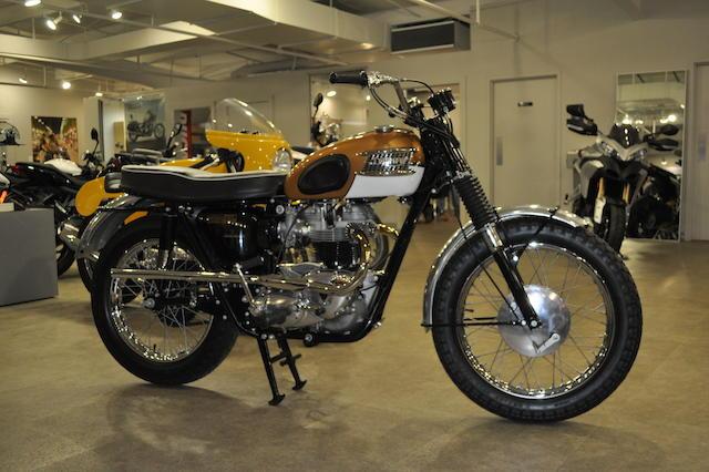 1964 Triumph TT Special Frame no. T120C DU12638 Engine no. T120DC DU12638
