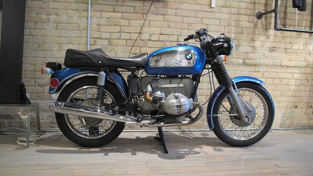 1970 BMW R75/5 Frame no. 2970970 Engine no. 2970970