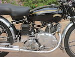 1950 Vincent B Series Meteor Frame no. R/1/5139 Engine no. F5AB/2/3239