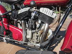 Former property of Steve McQueen,1935 Indian  Chief Frame no. 335 816 Engine no. CCE 816