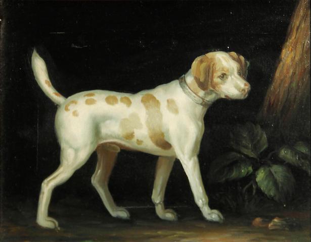 John Gray (20th Century) Dog in a landscape 8 x 10in
