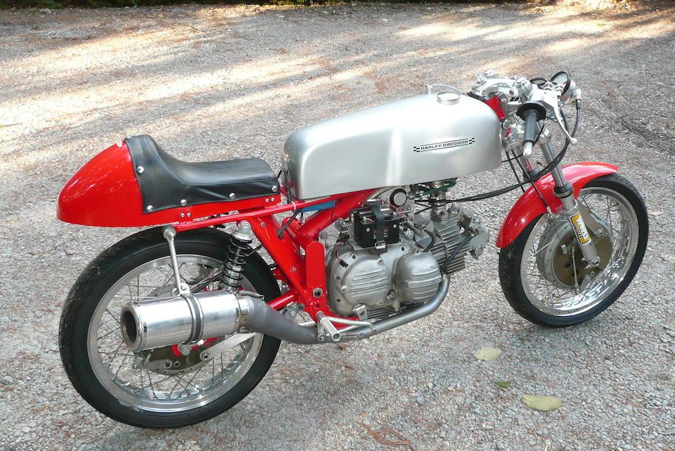 Bonhams : 1967 Aermacchi Harley-Davidson 250 CRTT Frame no  67CR5040