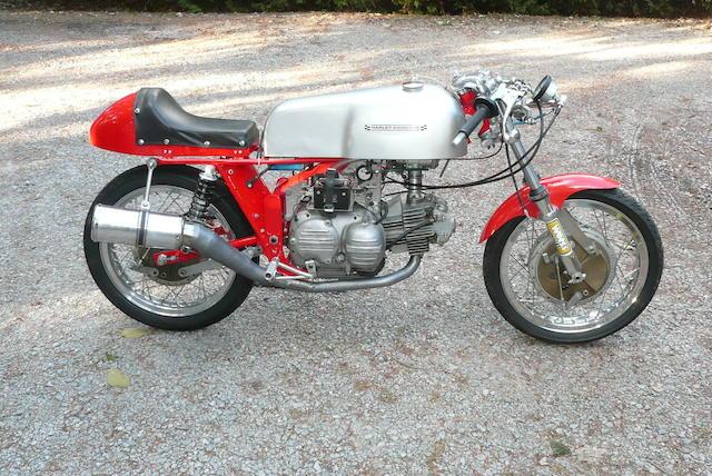 1967 Aermacchi Harley-Davidson 250 CRTT Frame no. 67CR5040 Engine no. 7B10037H1