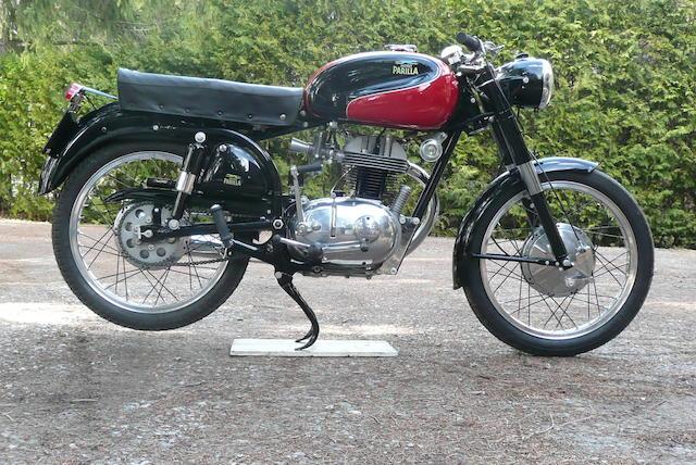 1958  Parilla  175cc Speedster Frame no. 501409 Engine no. 501409