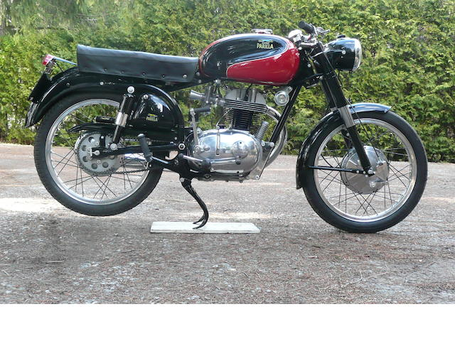 1958  Parilla  175cc Speedster Frame no. 501409 Engine no. 501409