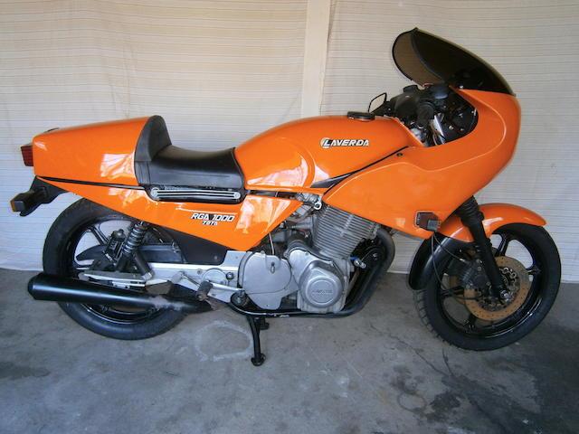 1984 Laverda RGA1000 Jota Special Frame no. ZLVMVDGA6E0000016 Engine no. LAV.1000RGS2398