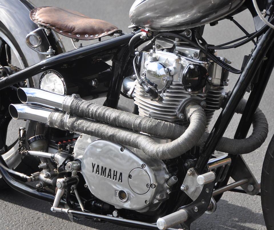 Bonhams : 1980 Yamaha XS650 Bobber