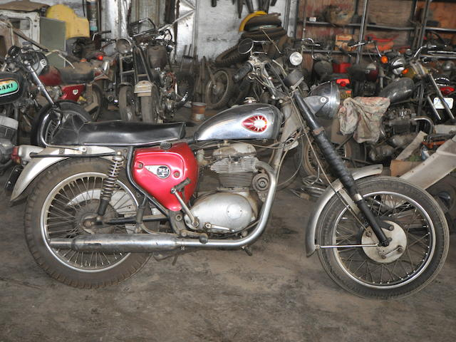 1966 BSA A65 Thunderbolt Frame no. 8517 Engine no. A65T8517