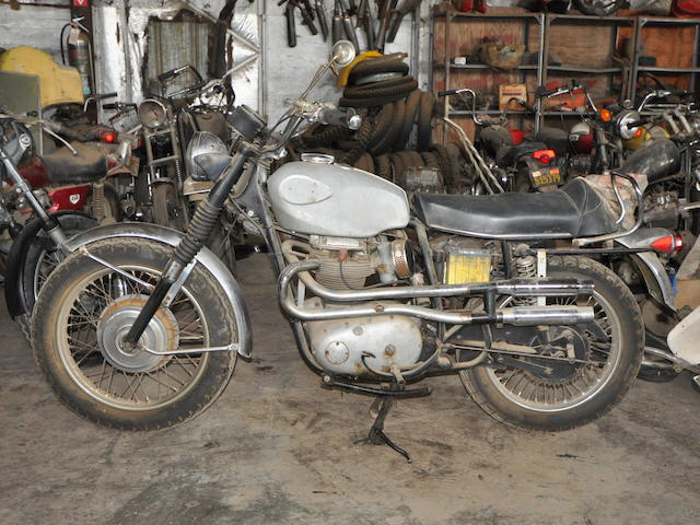 1970 BSA A65 Firebird Scrambler Frame no. HD00504-A65F Engine no. HD00504-A65F