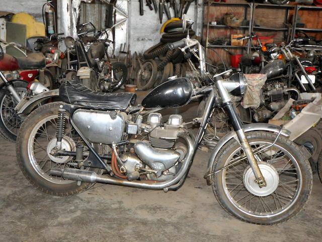 1961 Matchless 650 G12 Bobber Frame no. A74910 Engine no. 61/G12x3504